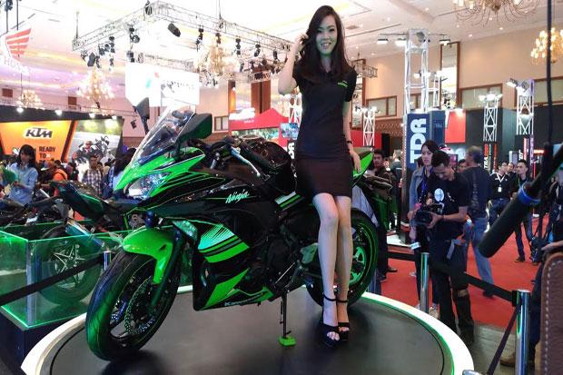 Mejeng di IMOS 2016, Kawasaki Keluarkan Ninja 650